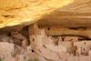 Mesa Verde National Park, Montezuma County, Colorado, USA: Cliff Palace - contained 150 rooms and 23 kivas for social, administrative and ceremonial usage - photo by A.Ferrari