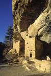 Mesa Verde National Park, Montezuma County, Colorado, USA: detail of Spruce Tree House - photo by C.Lovell