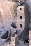 Mesa Verde National Park, Montezuma County, Colorado, USA: the four-story Square Tower House - photo by C.Lovell