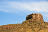 Golden, Jefferson County, Colorado, USA: Castle Rock towers above the town - photo by M.Torres