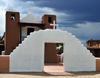 Pueblo de Taos, New Mexico, USA: San Geronimo Chapel - Saint Jerome is the patron saint of the pueblo - photo by M.Torres