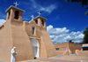 Ranchos de Taos, Taos County, New Mexico, USA: San Francisco de Assisi Mission Church, the church in Georgia O'Keefe's paintings - photo by M.Torres