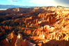USA - Bryce Canyon National Park (Utah): wide view - giant natural amphitheater created by erosion along the eastern side of the Paunsaugunt Plateau - hoodoos - photo by J.Fekete