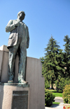 Boise, Idaho, USA: Governor Steunenber statue - he restored  law and order to the state and was later assassinated - sculptor Gilbert Riswold - North Capitol Boulevard - photo by M.Torres