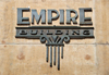 Boise, Idaho, USA: Empire building logo - corenr of Idaho and 10th - photo by M.Torres