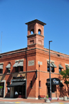 Boise, Idaho, USA: old Central Fire Station - Romanesque Style - corner of Reserve St and Idaho St., Old Boise Historic District - photo by M.Torres