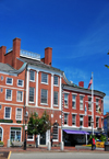 Portsmouth, New Hampshire, USA: Portsmouth Athenaeum - library and museum, Market Square - New England - photo by M.Torres