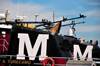 Portsmouth, New Hampshire, USA: Moran Towing Tugboats, they operate up the the Piscataqua River and through Portsmouth Harbor - funnel of the A.Turecamo, with the company's M - Ceres St - New England - photo by M.Torres