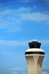 Kansas City, Missouri, USA: KCI Air Traffic Control Tower - Kansas City International Airport - IATA MCI, ICAO KMCI - Platte County - photo by M.Torres