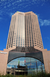 Cleveland, Ohio, USA: 200 Public Square - BP Tower - Western  facade - 200-230 Public Square - photo by M.Torres