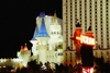 Las Vegas (Nevada): kitschy Camelot - Excalibur casino - photo by J.Kaman