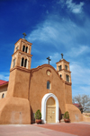 Socorro, New Mexico, USA: San Miguel Mission - first built by the Spanish probably around 1627 - though Socorro claims the oldest Catholic church in the United States, founded in 1598 - photo by M.Torres