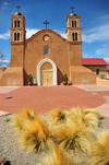 Socorro, New Mexico, USA: San Miguel de Socorro church - San Miguel Mission - Archdiocese of Santa Fe - photo by M.Torres