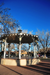 Albuquerque, Bernalillo County, New Mexico, USA: Old Town Plaza - bandstand at La Placita - in March 1862, General Henry H. Sibley and his Texas volunteers raised the Confederate flag here - photo by M.Torres