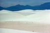 USA - White Sands National Monument (New Mexico): endless dunes of gypsum crystals - Otero County - Tularosa Basin valley - located near U.S. Route 70 - photo by J.Fekete