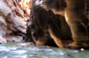 Zion National Park, Utah, USA: North Fork of the Virgin River - the Narrows - photo by B.Cain