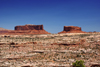Canyonlands National Park, Utah, USA: mesas against the sky - photo by A.Ferrari