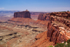 Canyonlands National Park, Utah, USA: the plateau dissolves into a rock fin - photo by A.Ferrari