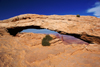 Canyonlands National Park, Utah, USA: Mesa Arch, Island in the Sky district - photo by A.Ferrari