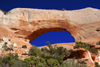 Monticello, Utah, USA: Wilson Arch - natural sandstone arch - photo by A.Ferrari
