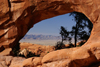 Arches National Park, Grand County, Utah, USA: Double O Arch, located a mile beyond Landscape Arch - Devil's Garden Primitive Loop - photo by A.Ferrari