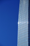 Oklahoma City, OK, USA: Devon Energy Tower - fa�ade edge in the sun - photo by M.Torres