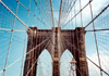 Manhattan (New York): Brooklyn bridge - detail (photo by J.Kaman)