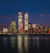 USA - Manhattan (New York): south of the island, still with the WTC twin towers - photo by A.Bartel