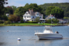 Mystic, CT, USA: luxury house on the water's edge - photo by M.Torres