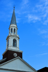 Wilmington, Delaware: spire of the First and Central Presbyterian Church - photo by M.Torres