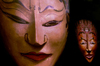 Miami / MIA / MIO (Florida):masks - photo by F.Rigaud