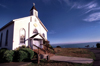 Trinidad (California): Holy Trinity Catholic church - Humboldt County - photo by F.Rigaud