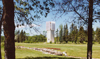 International Peace Garden, North Dakota, USA: the carillon - photo by G.Frysinger