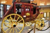 Minneapolis, Minnesota, USA: 1863 stagecoach - Wells Fargo History Museum - Wells Fargo Center - 6th Street South and Marquette Avenue - photo by M.Torres