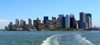 Manhattan (New York): skyline - leaving New York (photo by Llonaid)
