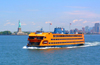 New York: Statten Island ferry (photo by Llonaid)