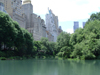 Manhattan (New York): Central Park - pond (photo by Llonaid)