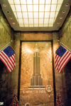 Manhattan (New York): lobby of the Empire State Building - new glory days - Lexington avenue / East 42 street  (photo by Miguel Torres)