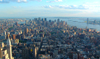 Manhattan (New York): looking south from the Empire State (photo by Llonaid)