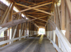 Parke County (Indiana): covered bridge - Jackson Bridge - Burr Arch construction - photo by G.Frysinger