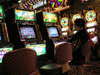 Atlantic City, New Jersey, USA: inside Resorts casino - slot machines - photo by A.Kilroy