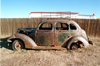 USA - Navajo Nation / Navajo Country (Arizona): old car in the Navajo Indian Reservation - Photo by G.Friedman