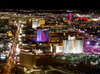 Las Vegas (Nevada): the strip at night - Photo by G.Friedman