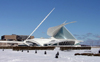 Milwaukee, Wisconsin, USA: Milwaukee Art Museum - Lake Front - architecture by Santiago Calatrava - photo by G.Frysinger