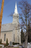 Freistadt (Wisconsin): Trinity church - Wisconsin's oldest Lutheran church - Missouri Synod - photo by G.Frysinger