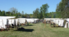 Old Wade House State Park (Wisconsin): Union encampment - tents - camp - Civil War - Battle reenactment - photo by G.Frysinger