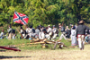 Old Wade House State Park (Wisconsin): Confederate Forces - 19th Tennessee - Civil War - Battle reenactment - photo by G.Frysinger
