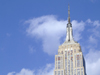 New York City: Empire State Building and the sky - photo by M.Bergsma