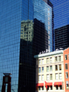 Manhattan (New York City): old and new - photo by M.Bergsma