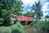 Madison, Iowa, USA: Madison county bridge - the covered bridge form the movie - Roseman Bridge - photo by Mona Sturges